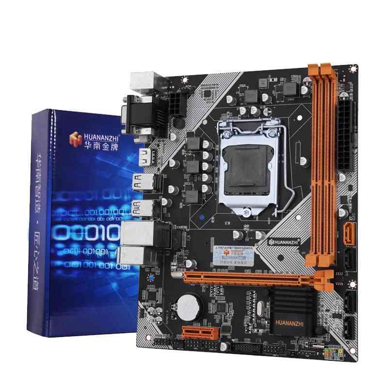 Huananzhi B75 Desktop Motherboard Lga1155 For I3 I5 I7 Cpu Support Ddr3 Memory