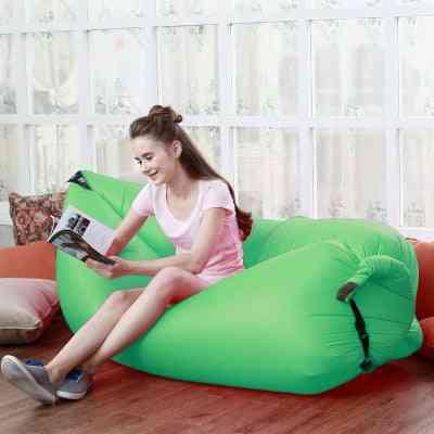 Waterproof Inflatable Bag Lazy Sofa Camping Sleeping Bags Air Bed
