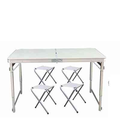 Outdoor Folding Table & Chair Set