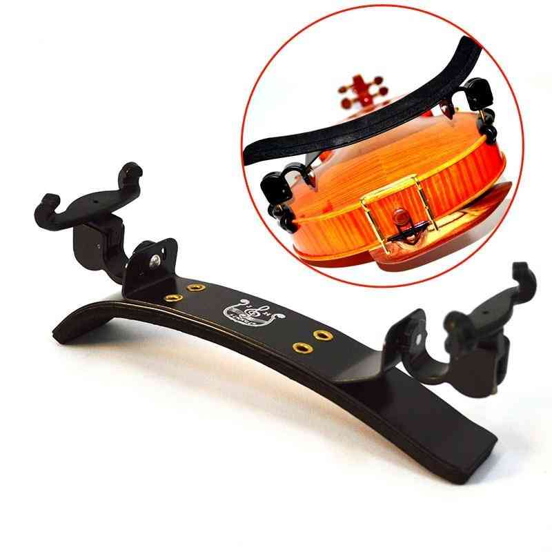 Adjustable Violin Shoulder Rest, Bon Style Accessories For Pad Support, Parts Fittings