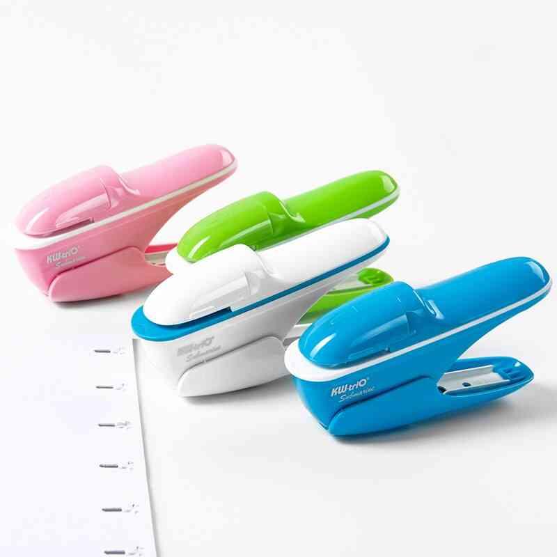 7-sheets, Hand-held, Mini Safe Stapler, Free Stapleless Without Staples Paper Stapler
