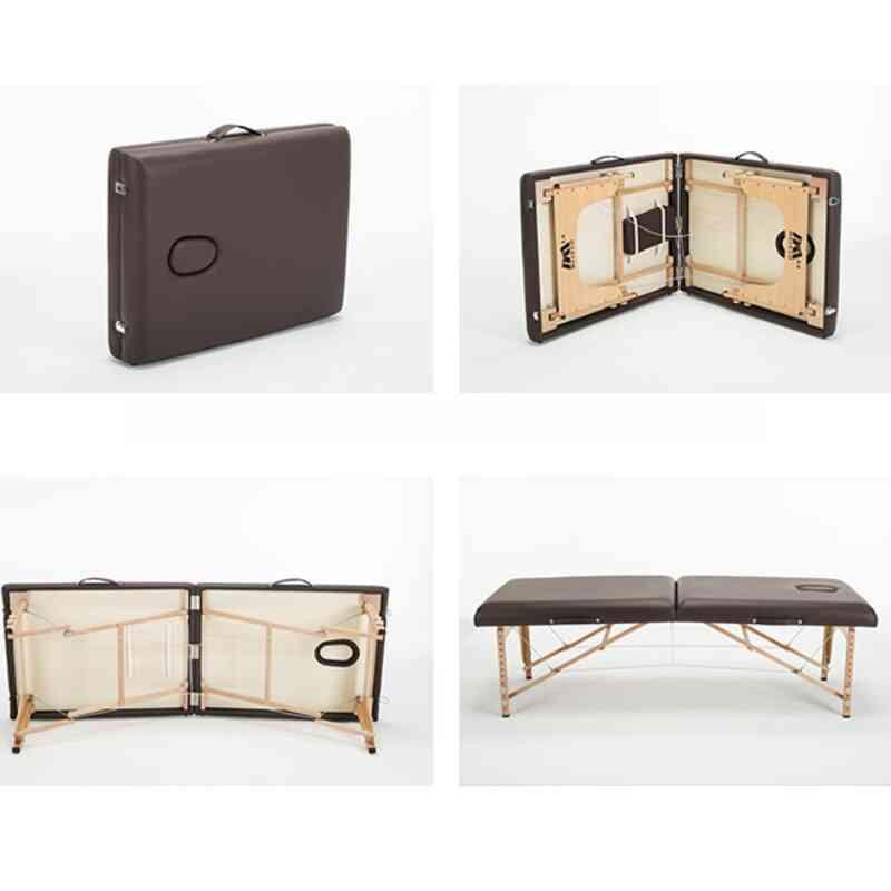 Furniture Portable Foldable Massage Bed Facial Salon Table