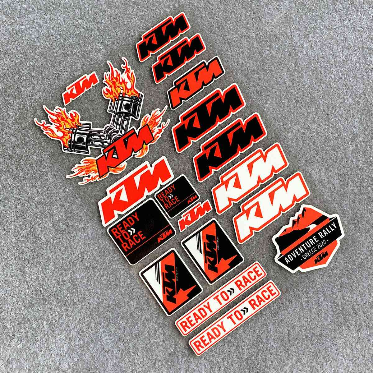 Reflective Motorcycle Decals Tank Stickers,