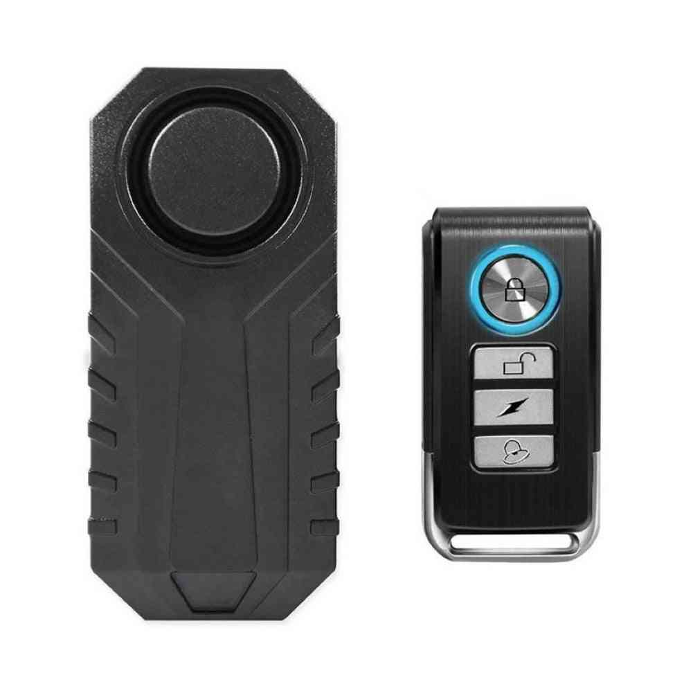 Remote Control Electric Bike Security, Anti-theft Vibration Sensor Warning Alarm, Motorcycle Accessories  Speakers