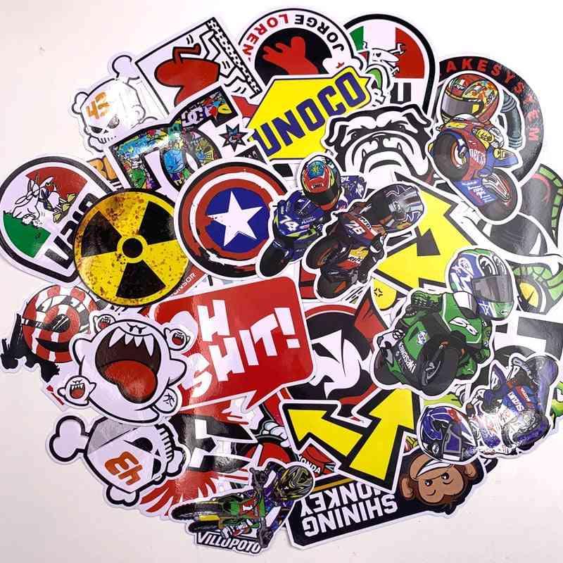 Cartoon Stickers For Car Styling, Bike, Motorcycle, Phone Skateboard Super Hero Films Graffiti Skateboard Sticker
