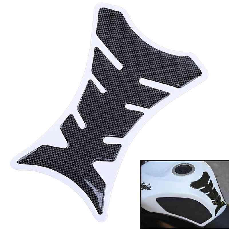 Carbon Fiber Fishbone Stickers, Car Motorcycle Tank Pad, Protector