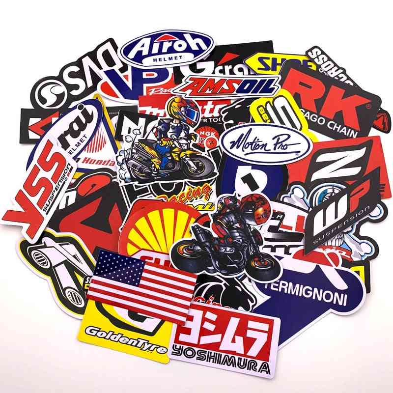 Funny Car Stickers On Motorcycle Suitcase, Home Decor, Phone, Laptop Covers