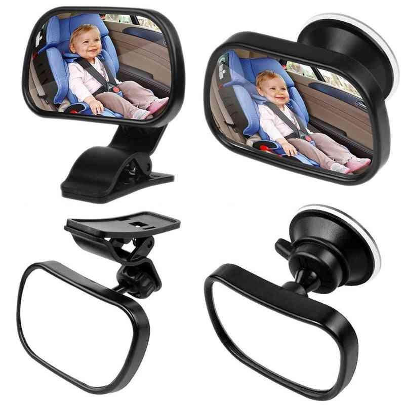 Mini Safety Adjustable Rear Convex Monitor Car Back Seat Baby Mirror