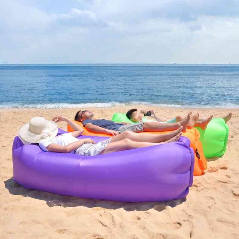 Camping Chair Beach Picnic Inflatable Sofa Sleeping Bag/air Bed