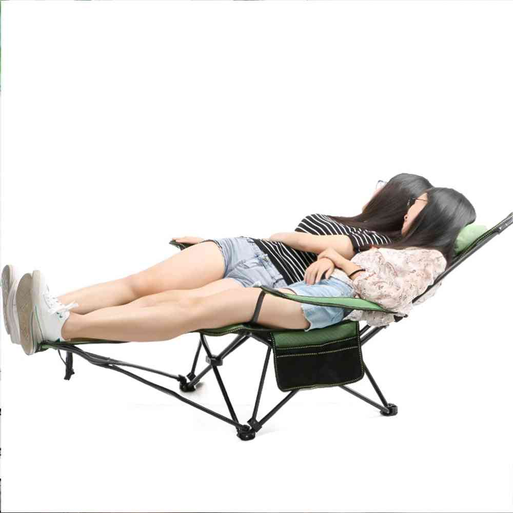 Beach With Bag Portable Folding Chairs Fishing Camping Chair Seat
