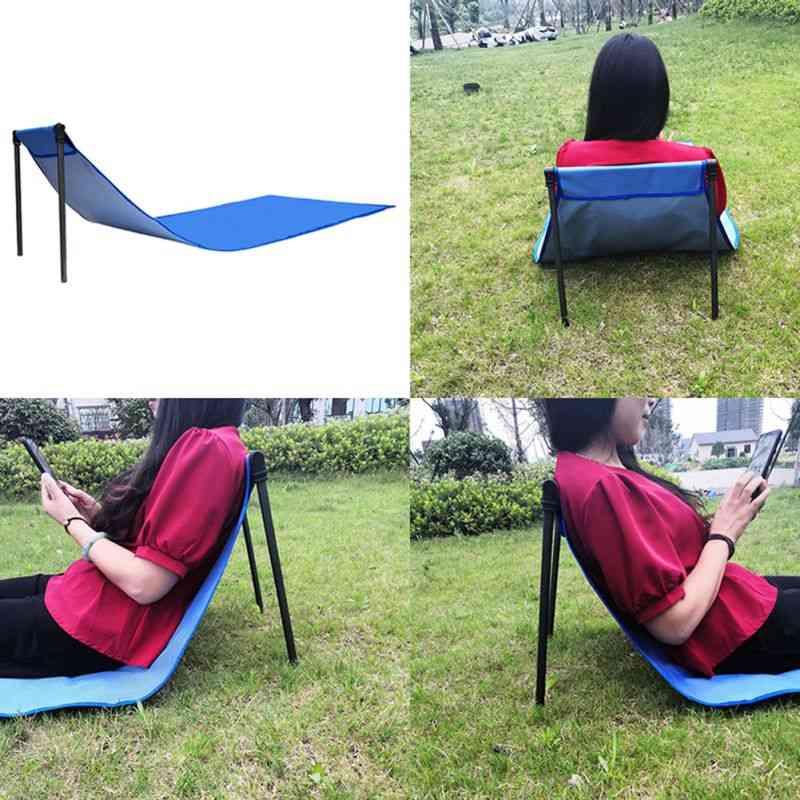 Portable Traveling Chair, Yoga Mat, Fashion Folding Lobby Chair, Picnic Mat