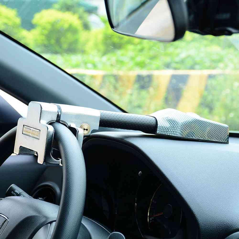 Anti Theft Car Steering Wheel Lock-safety Alarm