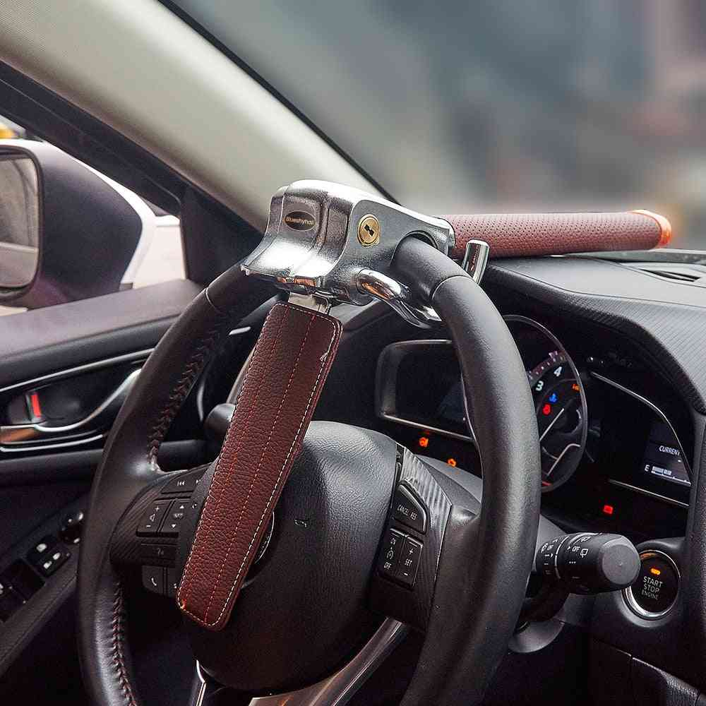 Car Steering Wheel Anti-theft Three Direction Airbag Lock Universal