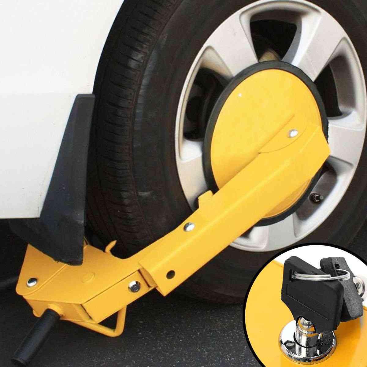 Wheel Lock Clamp Adjustable Tire Boot Locks