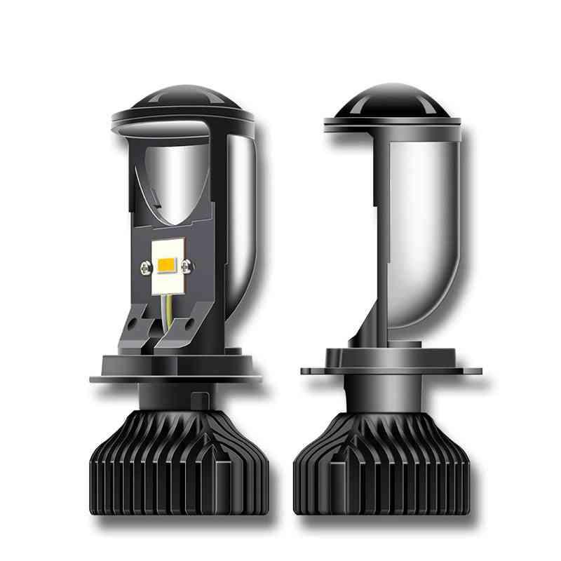 H4 Led Mini Projector Lens Automobiles Bulb