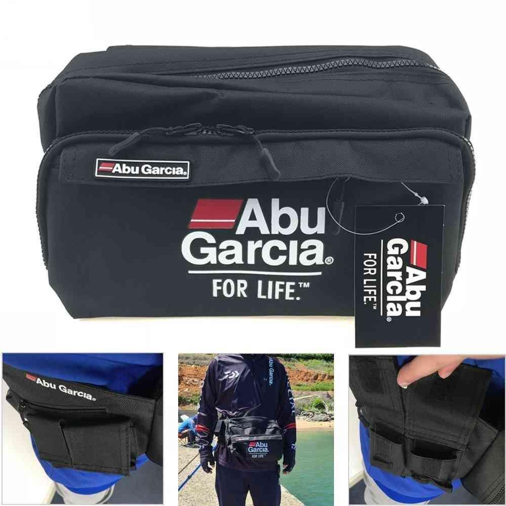 Fishing Tackle Waist Bag, Shoulder Carry Case, Multi-pocket Line Hook, Swivel Snaps, Storage Pack