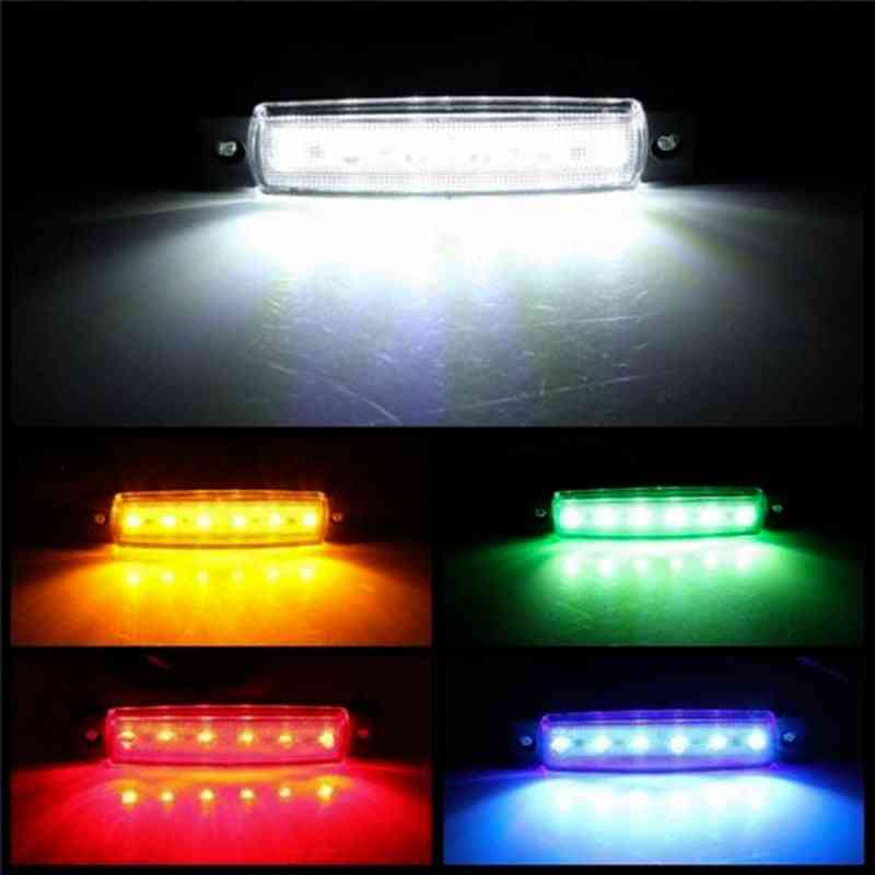 Auto Car Bus Side Marker Indicator Low Led Trailer Light, Rear Sides Lamp
