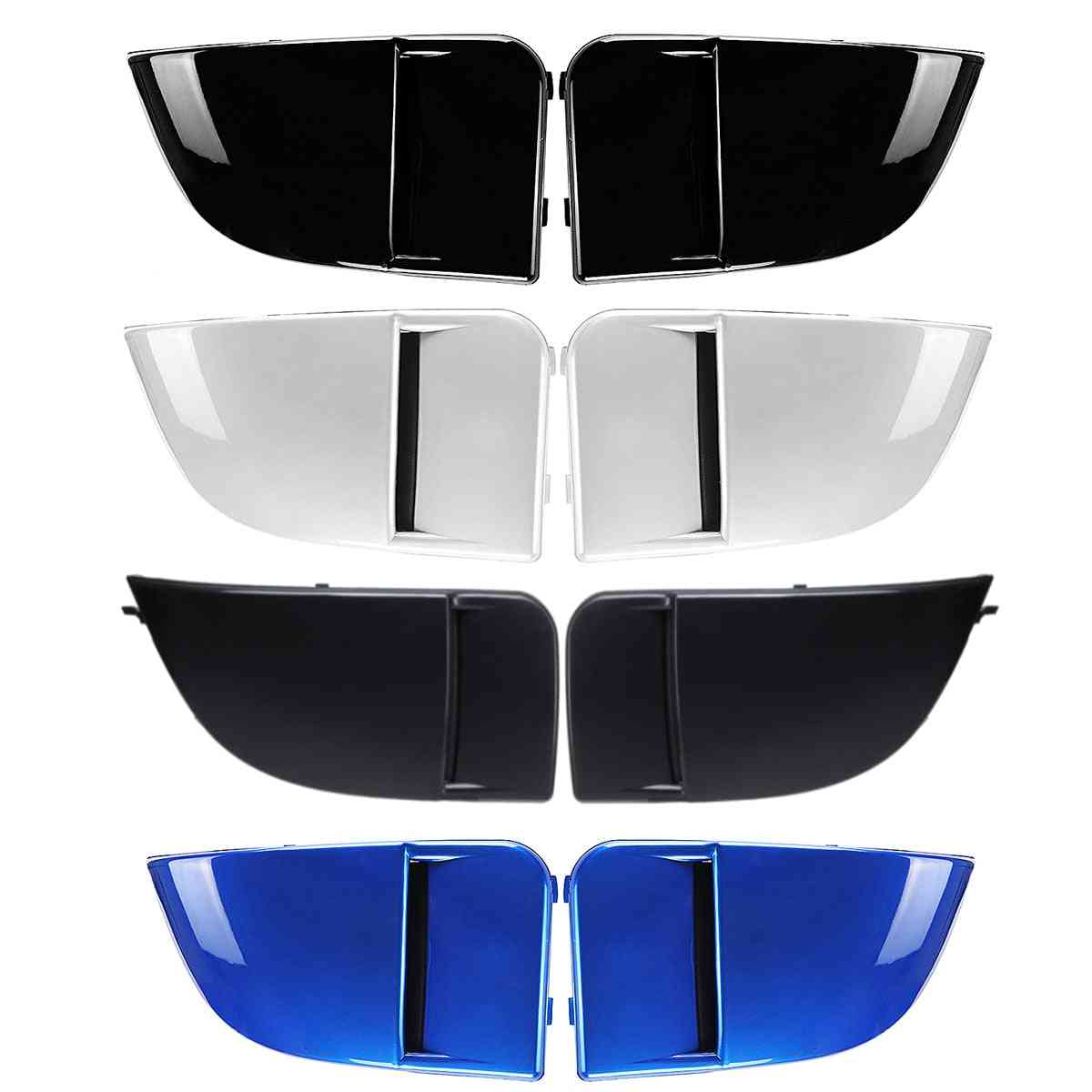 Front Fog Light Lamp Covers Bumper Cover Cap Trim Protection