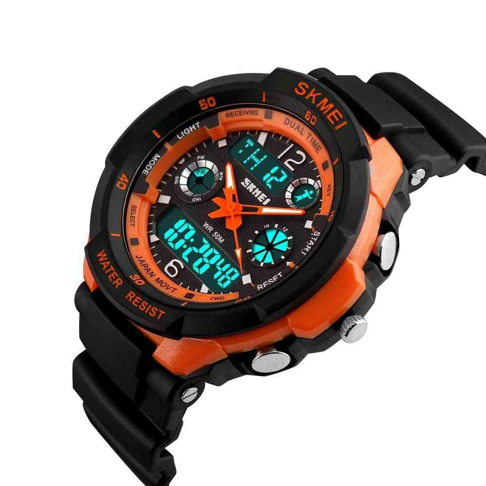 Watches Anti-shock  Waterproof Outdoor Sport Watches Fashion Digital
