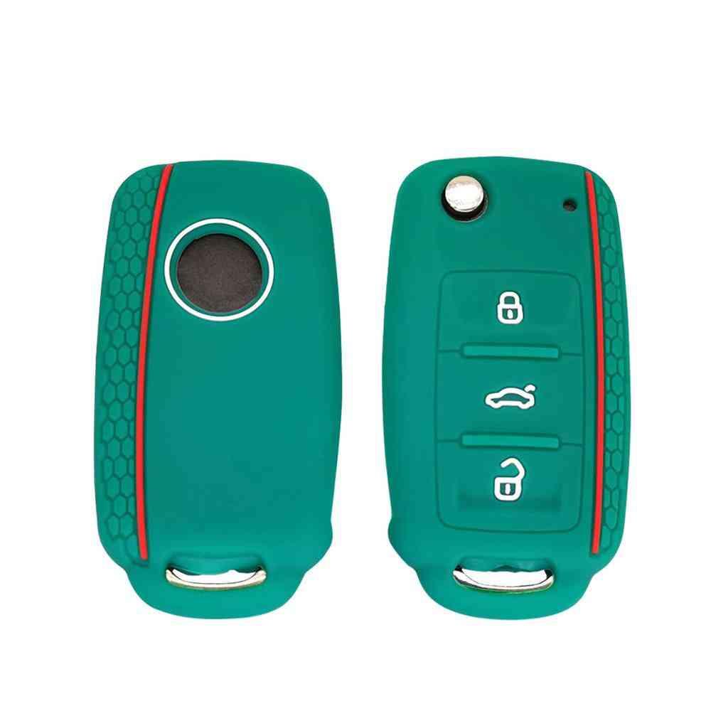 Car Key, Silicone Cover Case Shell, Button Remote Protector