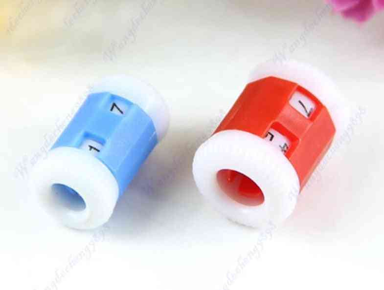 Plastic Pride Row Counter 2 Sizes Knit Knitting Needles