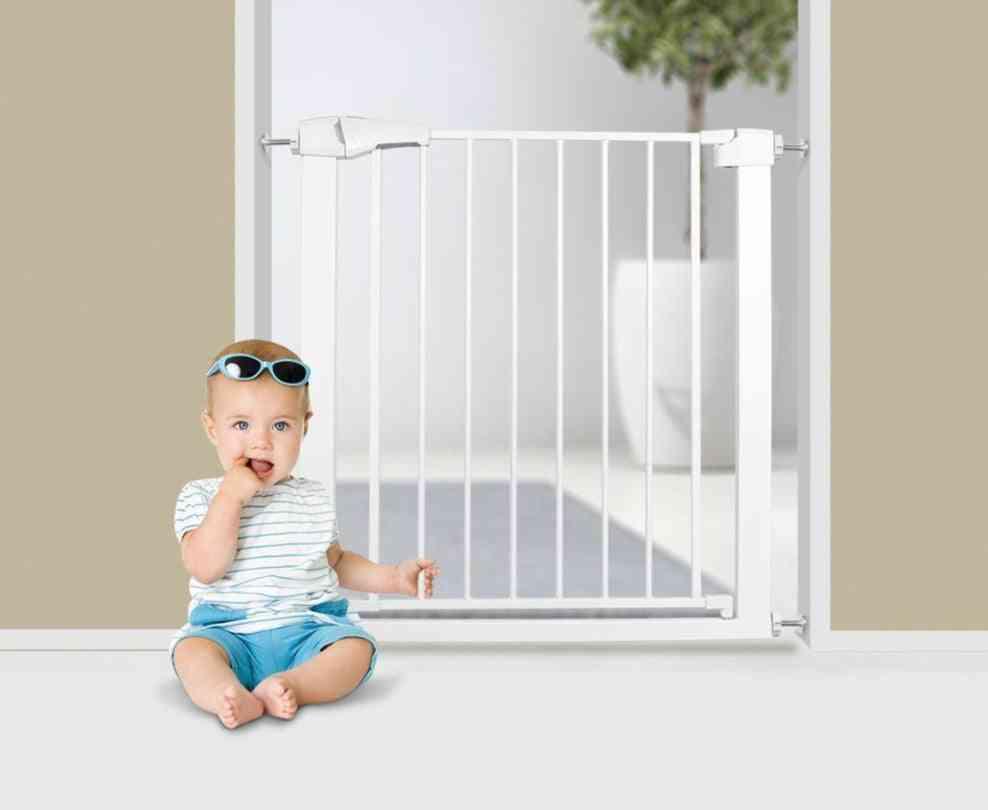 Adjustable Baby Safety Door, Metal High Strength Iron Gate