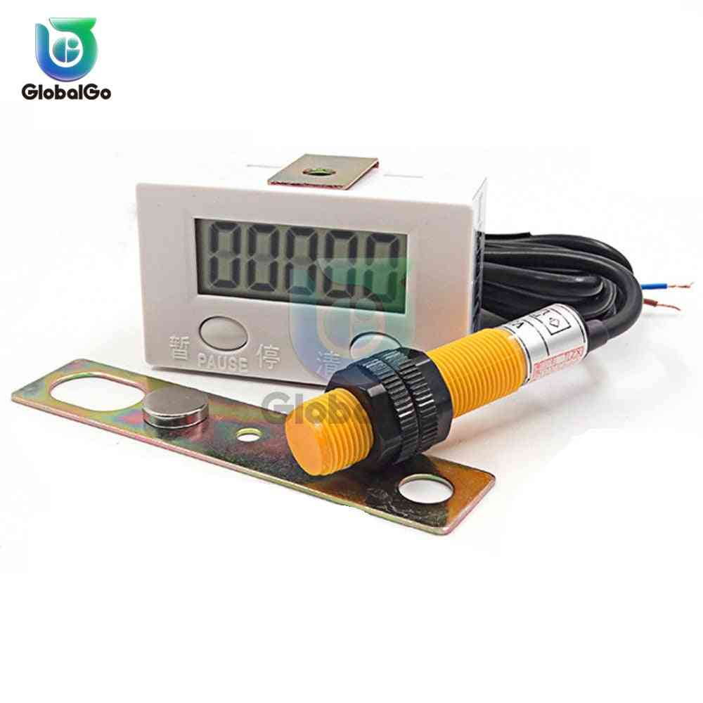 Magnetic Induction Lcd Digital Display Counter-industry Magnetic Proximity Sensor