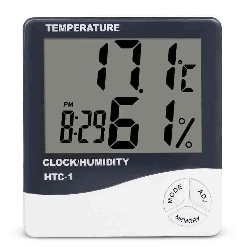 Electronic Digital Thermo-hygrometer Alarm Clock
