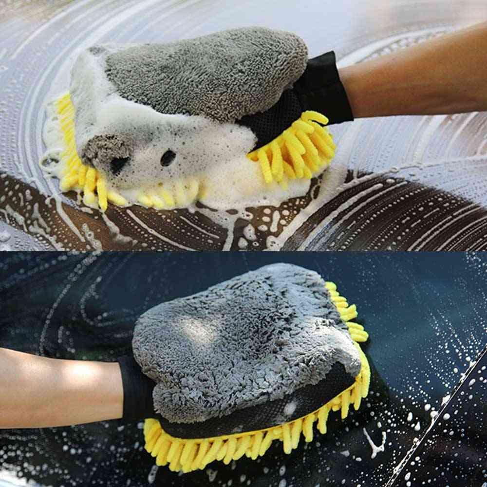 Soft Anti-scratch Car Wash Gloves