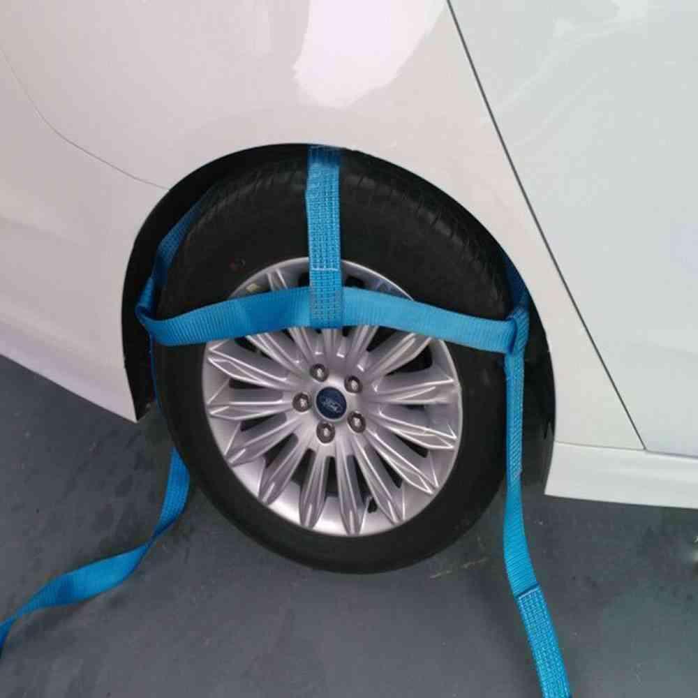 Multi-purpose Ratchet Belt/strap With Metal Buckle