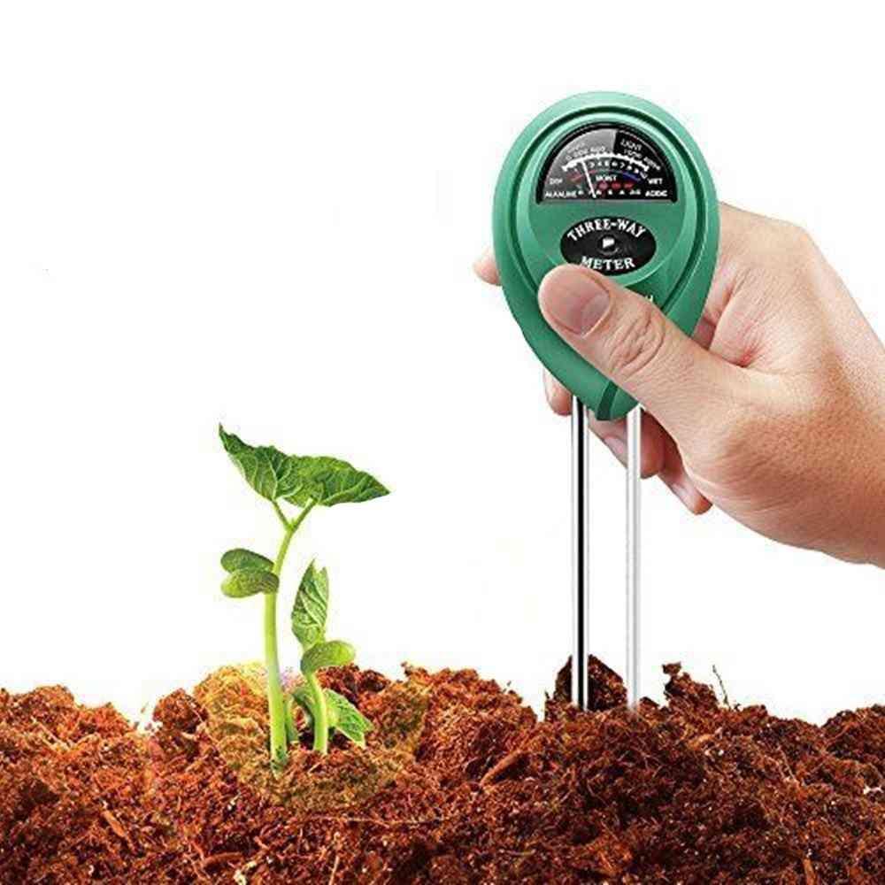 Soil Water Moisture -acidity Humidity Sunlight Light Ph Meter