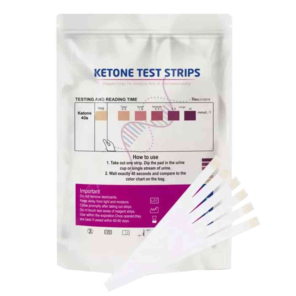 Medical Professional Analysis Ketone Test Strips