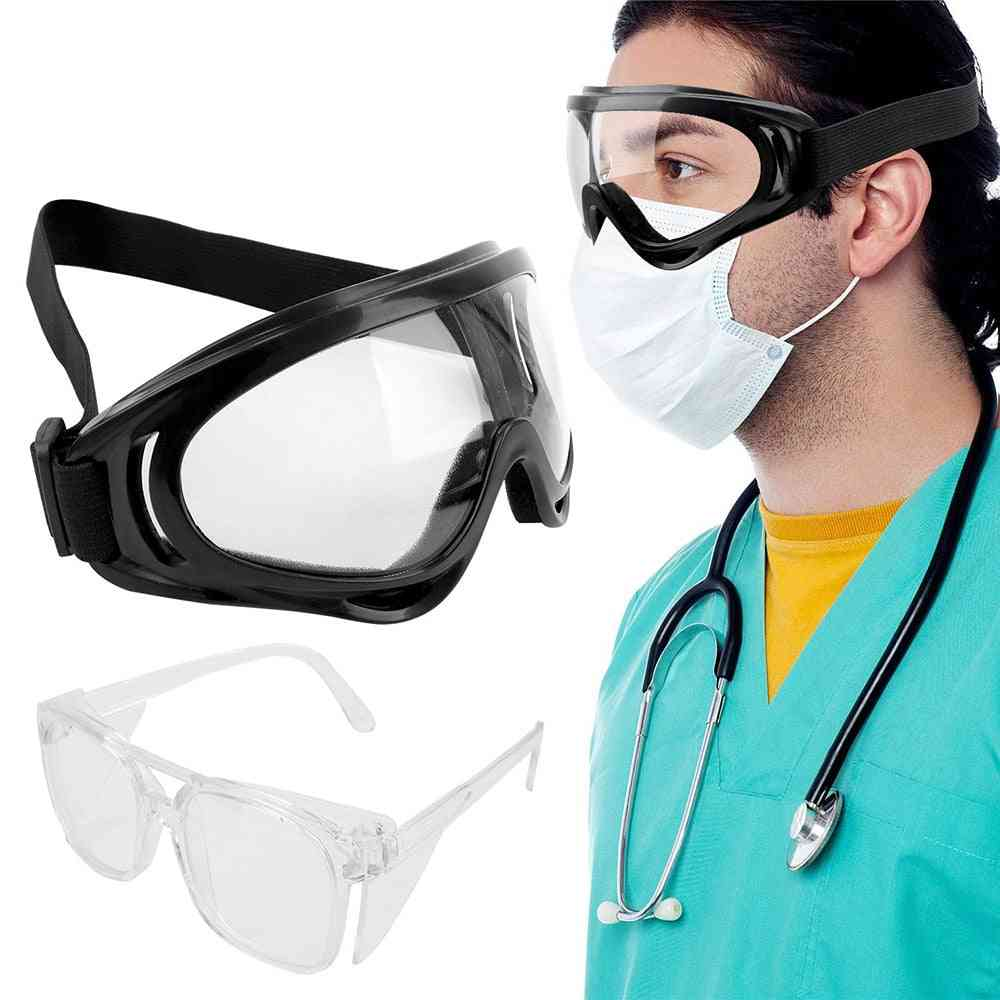 Eye Protection Anti-fog Safety Goggles, Windproof Sports Protection, Liquid Lab Glasses