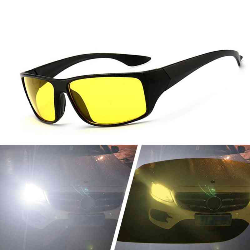 Night Vision Driver Goggles, Car Driving Uv Protection Polarized Sunglasses