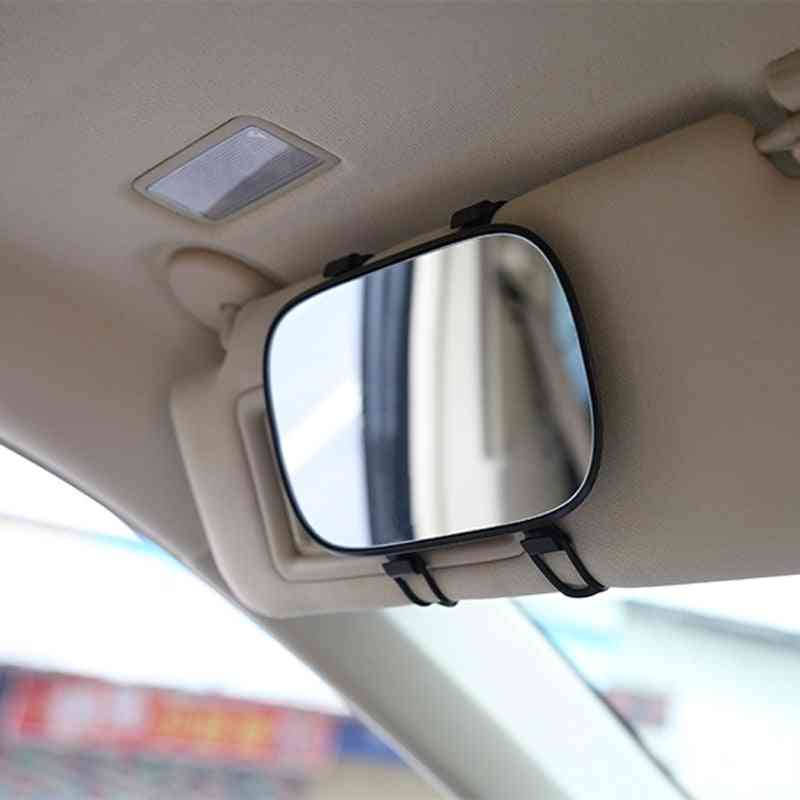 Interior Sun-shading, Hd Cosmetic, Portable Car Sun Visor Makeup Mirror