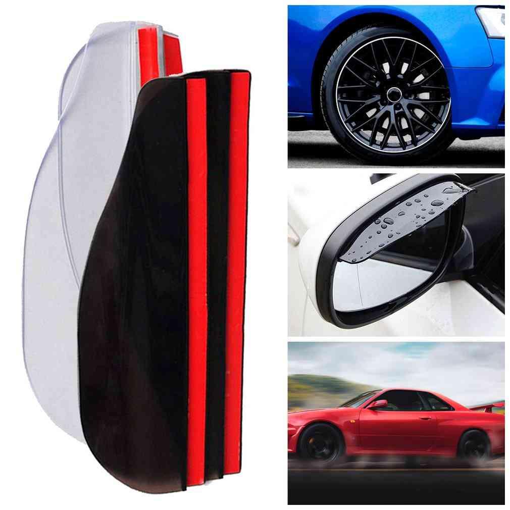 Practical Auto Car Rear View Mirror, Rain Guard, Rain Eyebrow Visor, Essential Accessories