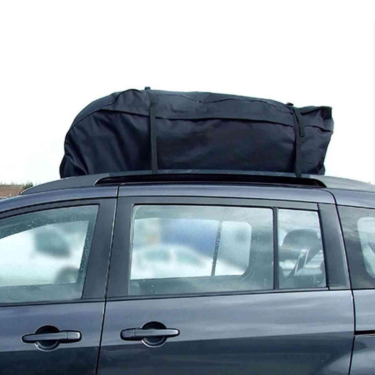 Car Roof Top Bag  Rack Cargo (black)