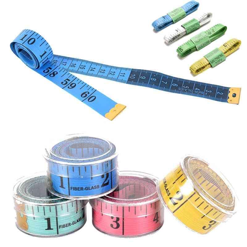 Hot Body Measuring Ruler Sewing Tailor Tape-measure Soft Flat Sewing Ruler Meter