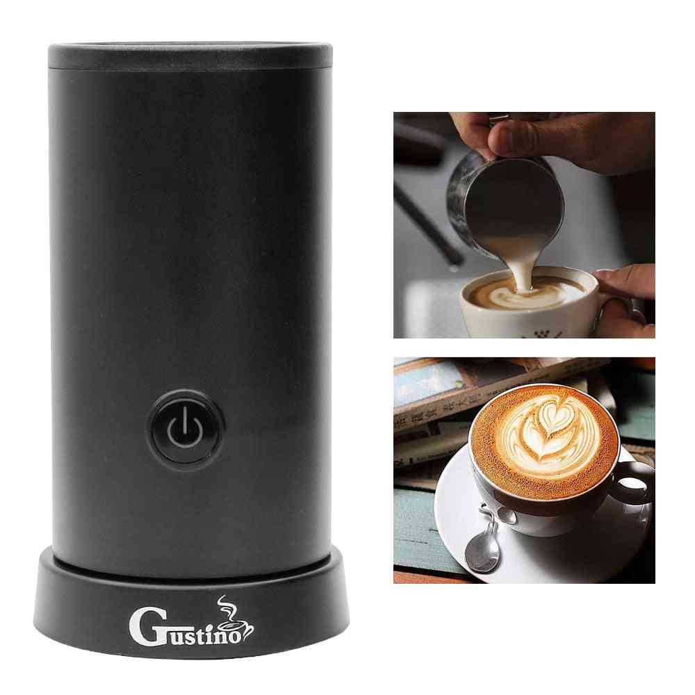 Automatic Milk Frother Coffee Foamer Container, Soft Foam Cappuccino Maker