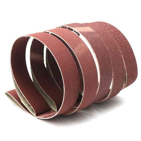 Sanding Belts 80/100/150/240/320 Grit Sandpaper Aluminum Oxide Power Tool