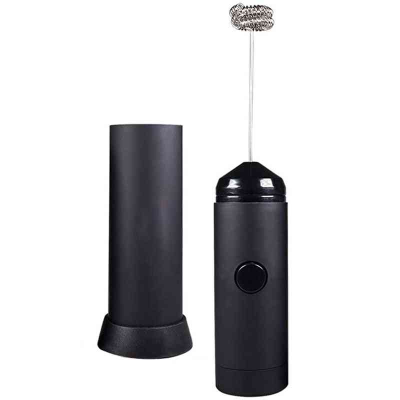 Battery Operated, Electric Foam Maker, Mini Handheld Milk Frother