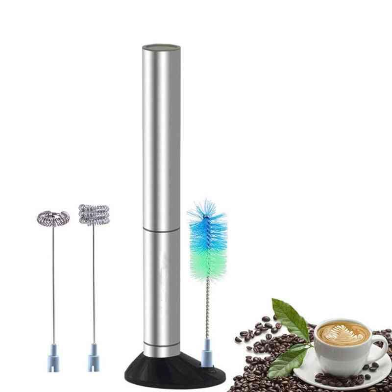 Electric Milk Frother Handheld Egg Beater, Mini Drink Mixer Stirrer Blender