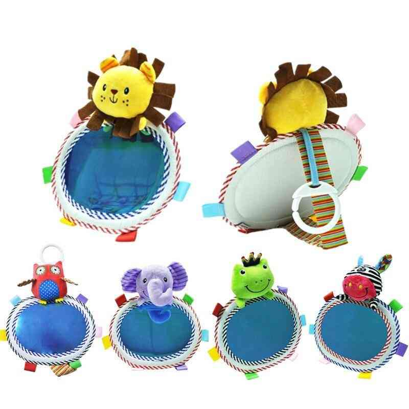 Cartoon Lion, Elephant & Animal Rear View Safety Seat, Viewing Mirrors