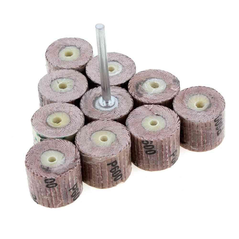 240-grit Flap Sanding Wheel Grinding Disc With Arbor
