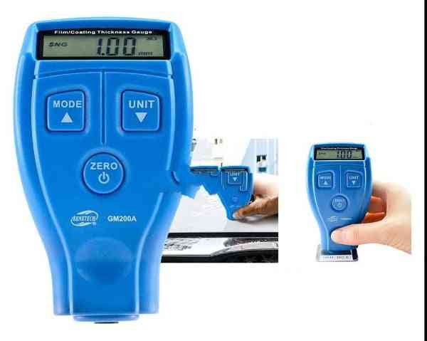 Mini Digital Paint Coating Thickness Gauge With Lcd Display