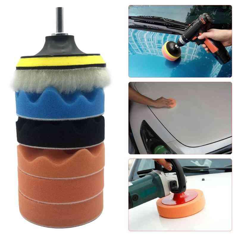 Mini Polisher Pads, Auto Car Polishing Buffing Pad Kit