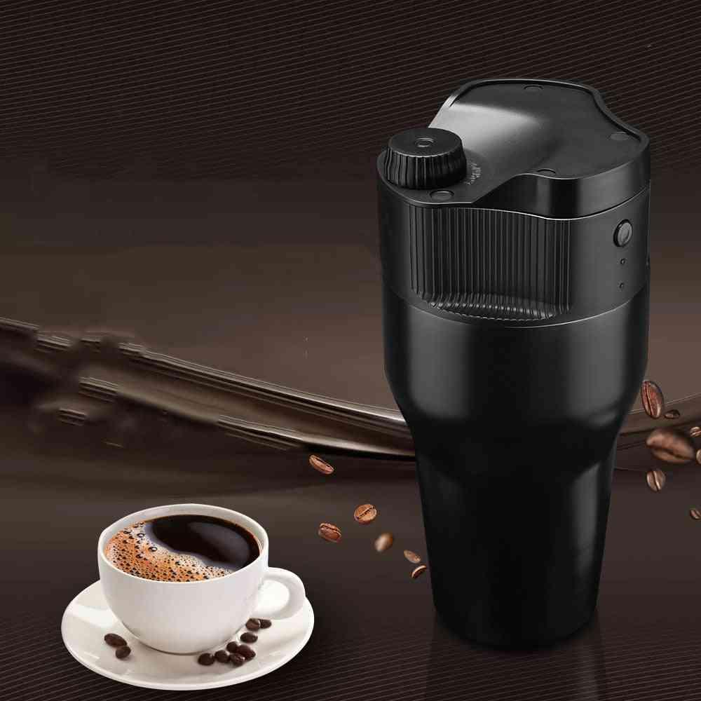 Mini Automatic Coffee Machine Usb Portable Reusable Espresso Coffee-mugs