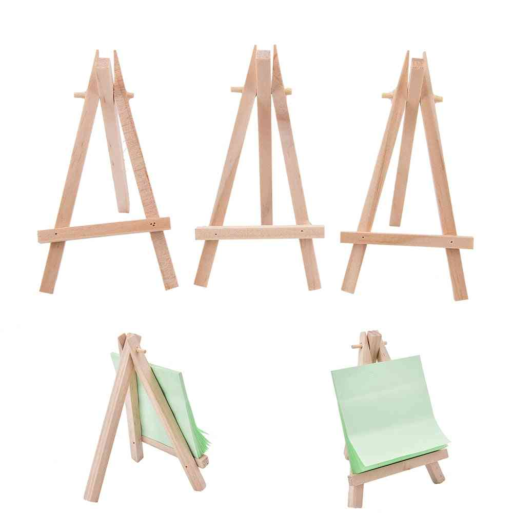 Wooden Mini Artist Easel Wood Table Card Stand Display Holder