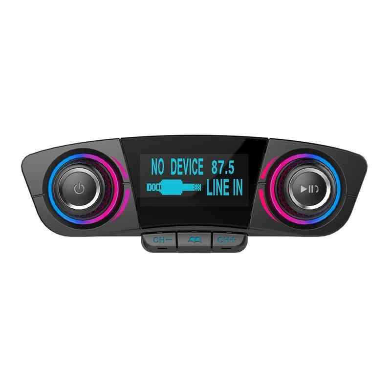 Auto Car Mp3 Player, Wireless Fm Transmitter Handsfree Radio Music Players