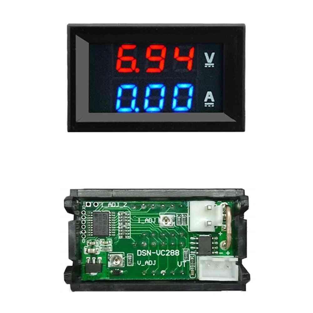 Mini Digital Voltmeter Ammeter Panel Amp Volt Voltage Current Meter Tester